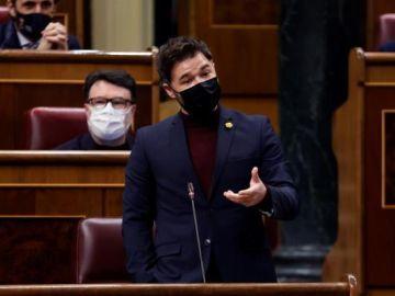 Elecciones Cataluña 2021: Gabriel Rufián en el Congreso de los Diputados