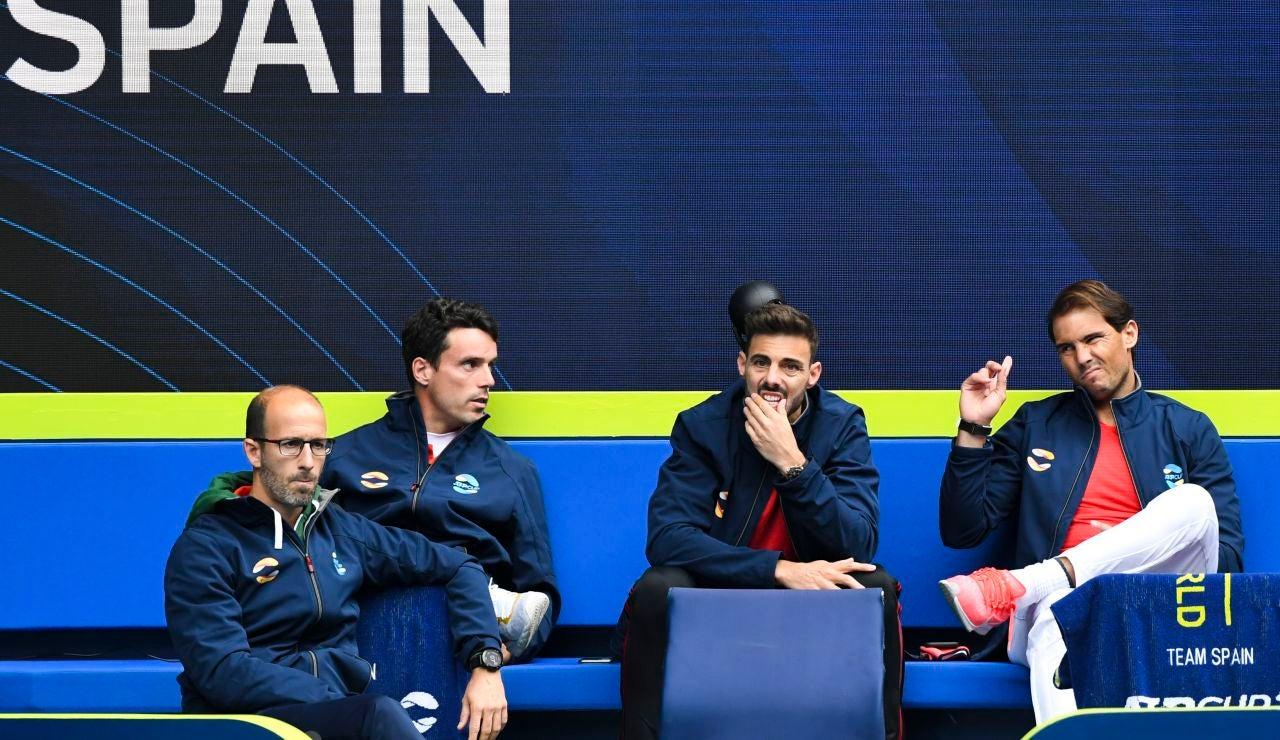 El equipo español en la ATP Cup en Australia