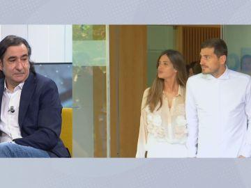 Iker Casillas y Sara Carbonero.