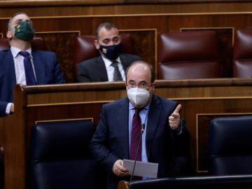 Miquel Iceta en el Congreso de los Diputados