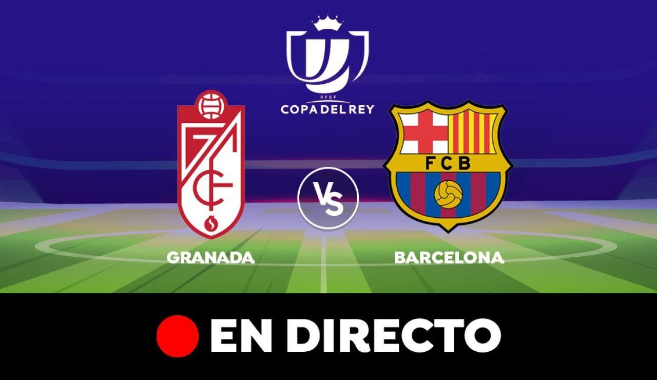 Granada - Barcelona: Resultado y goles del partido de hoy, en directo | Copa del Rey