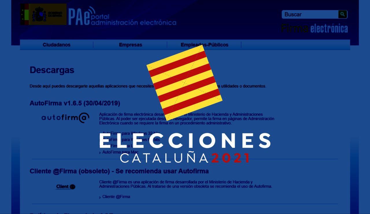 Elecciones catalanas 2021: ¿Cómo instalar certificado digital en AutoFirma?