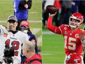 Tom Brady vs Patrick Mahomes: el duelo entre el presente y el futuro en la final de la Super Bowl 2021