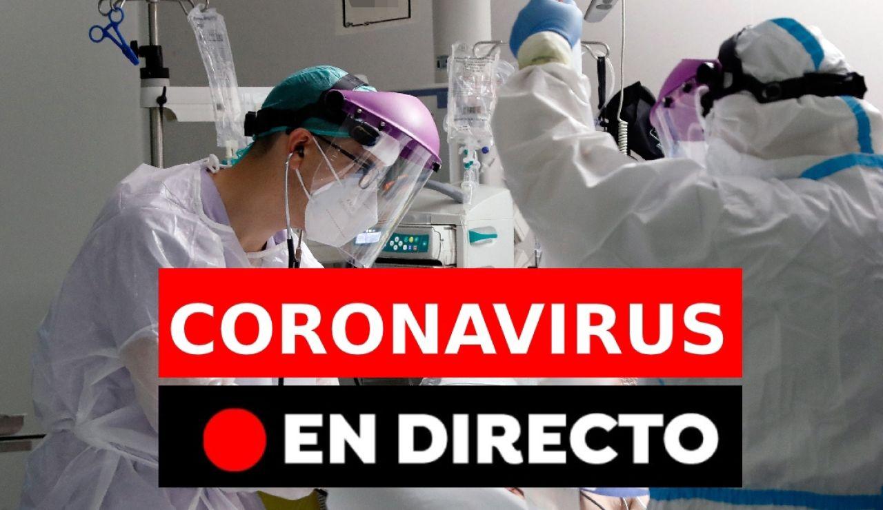 Coronavirus España: Última hora de los contagios y muertes
