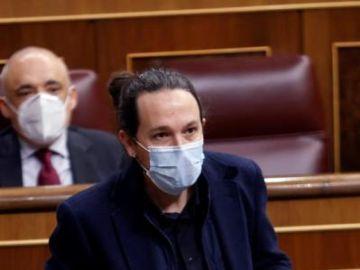 Pablo Iglesias en el Congreso de los Diputados