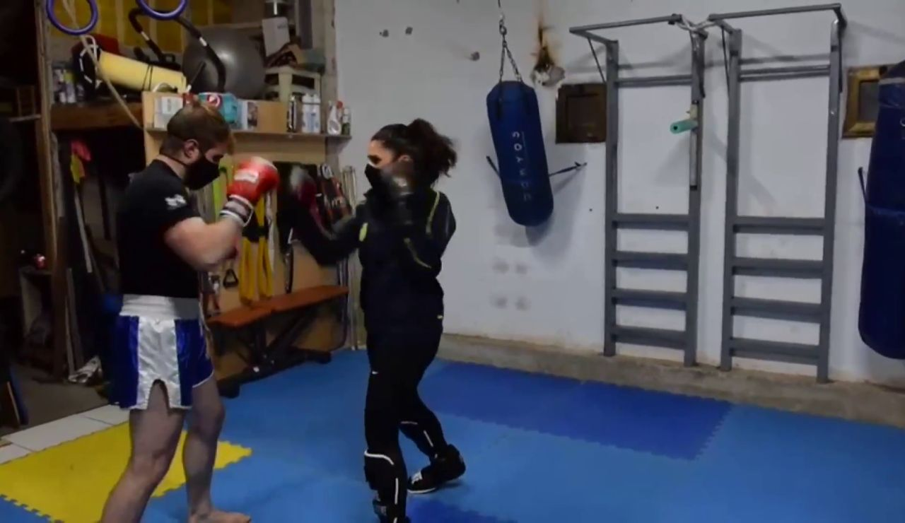 policia kickboxing