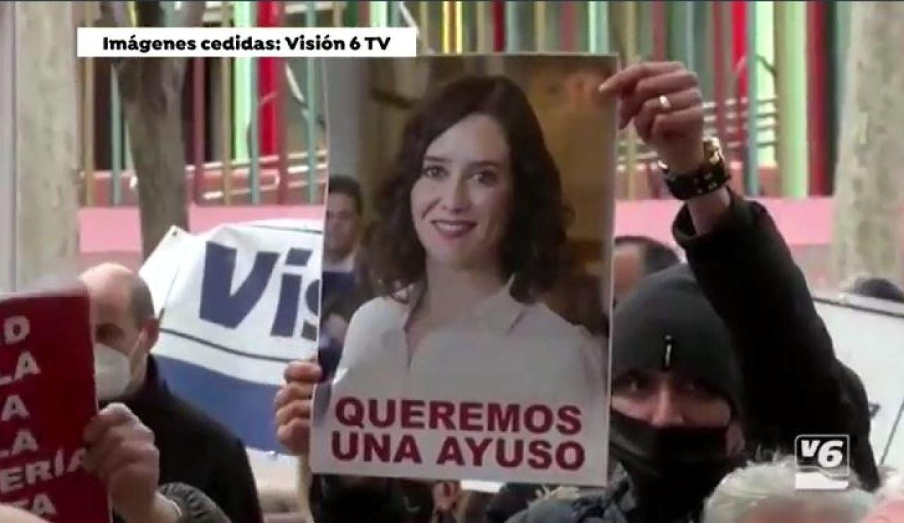 """""""Queremos una Ayuso"""", hosteleros de Albacete"""