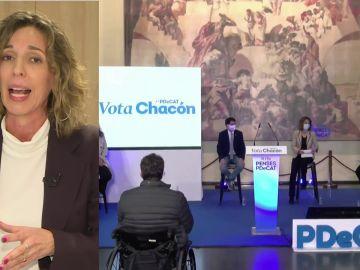 """Àngels Chacón, candidata del PDeCAT a las Elecciones Catalas 2021: """"Nosotros no aspiramos a gobernar, aspiramos a condicionar el futuro Gobierno de Cataluña"""""""
