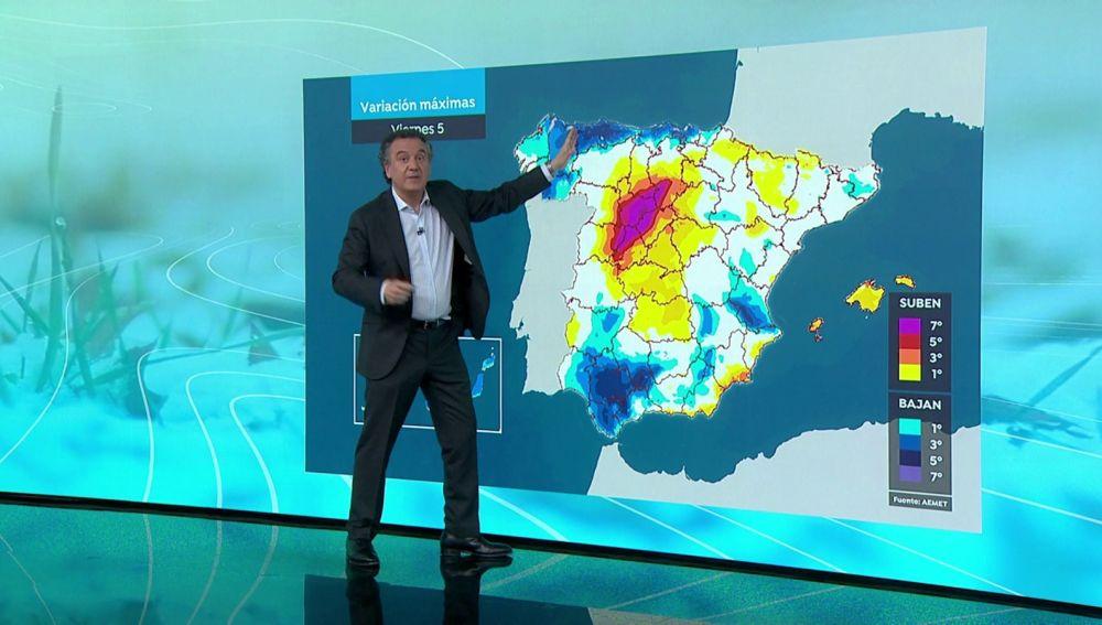 La previsión del tiempo hoy: Una borrasca dejará lluvias intensas en Canarias y se extenderá por la Península