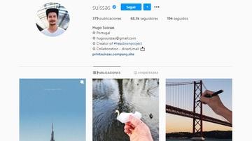 Instagram de @suissas