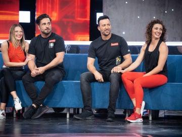Beatriz Mur y Yana Olina en El Desafío