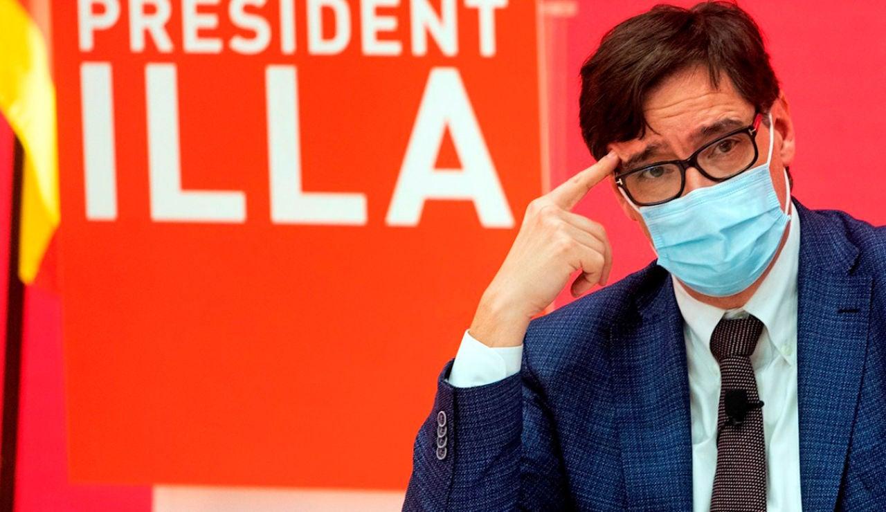 Salvador Illa, candidato de PSC