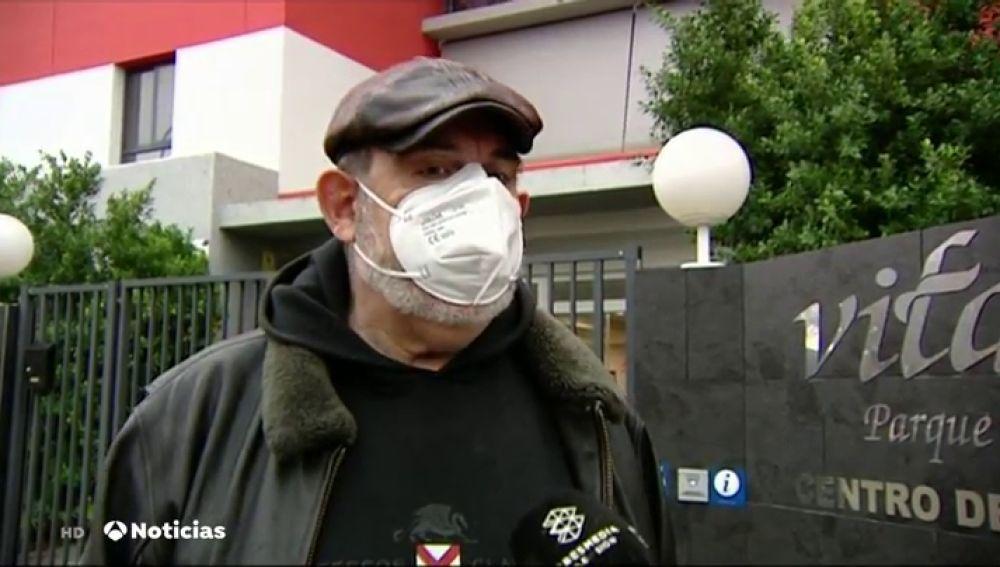 Uno de los denunciantes de la residencia de Sevilla