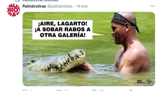 Tuit de @palindrotiras