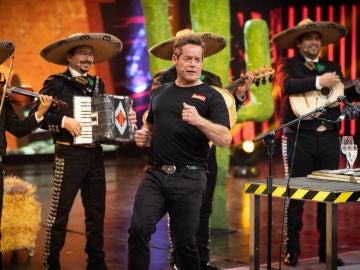 Jorge Sanz en las copas musicales