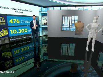 La Generalitat Valenciana compra por más de 10.000 euros chalecos para sus funcionarios que no teletrabajan