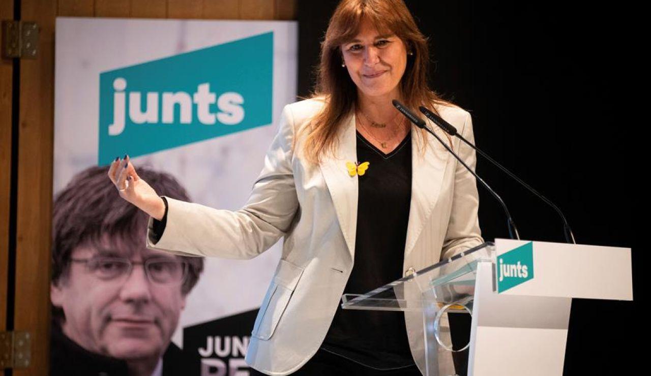 Laura Borràs, candidata de JxCat
