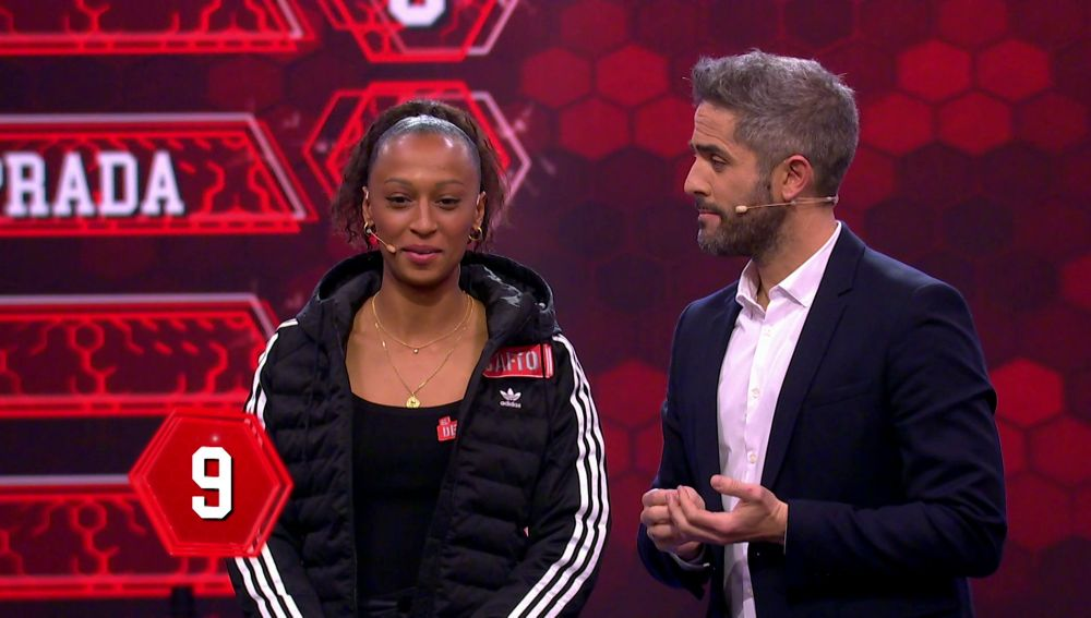 Ana Peleteiro muestra su disconformidad con el jurado