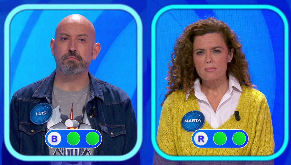 Largo y reñido: Marta y Luis se la juegan en un duelo insólito en la 'Silla Azul'