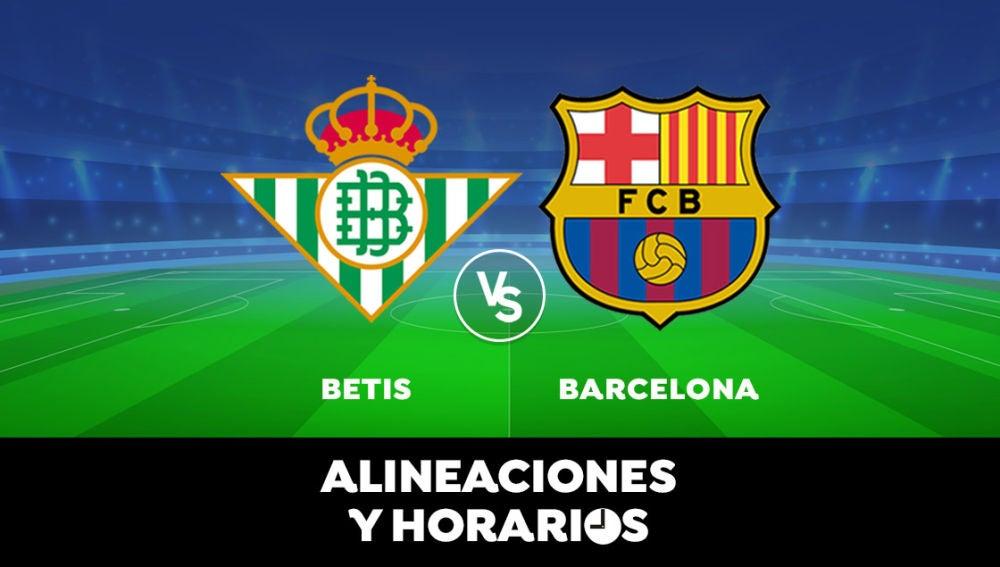 Betis - Barcelona: Horario, alineaciones y dónde ver el partido de Liga Santander en directo