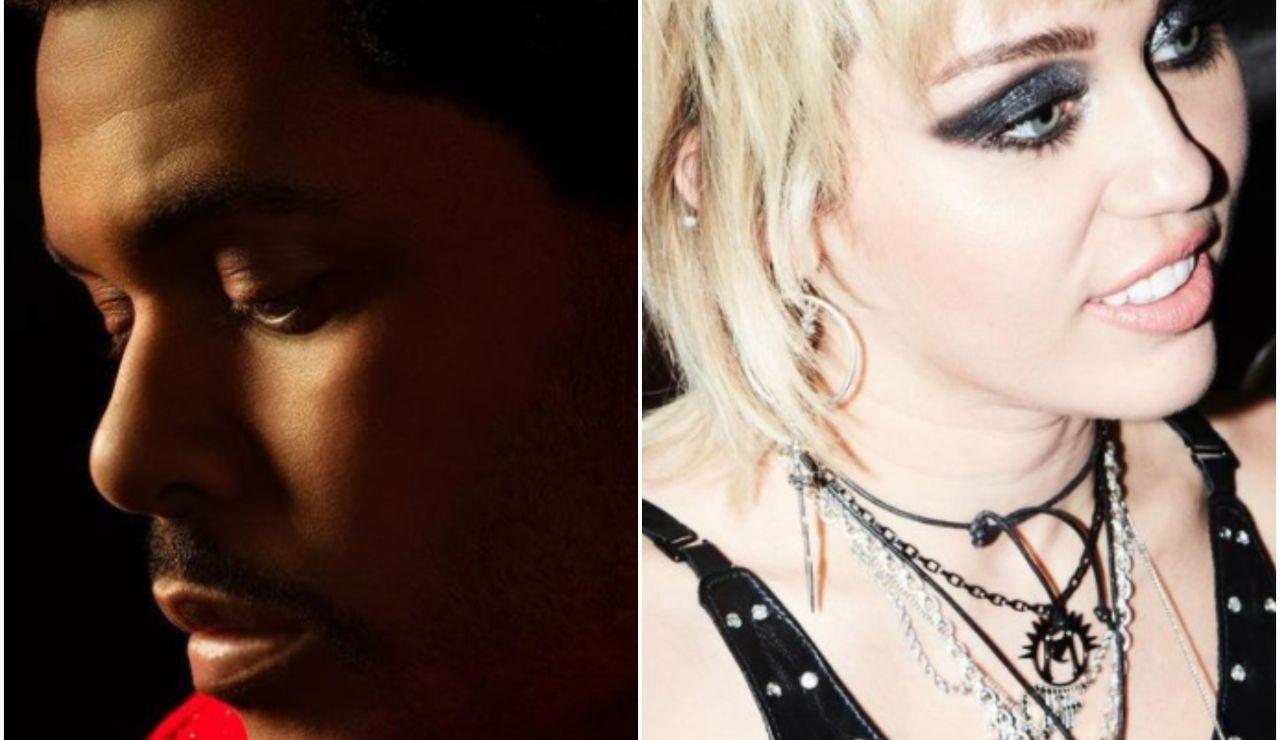 The Weeknd y Miley Cyrus serán los protagonistas que actuarán en el descanso de la Super Bowl