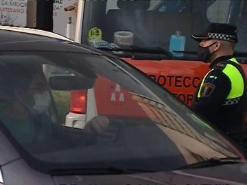 Vuelven los controles en el segundo fin de semana de cierre perimetral en la Comunidad Valenciana