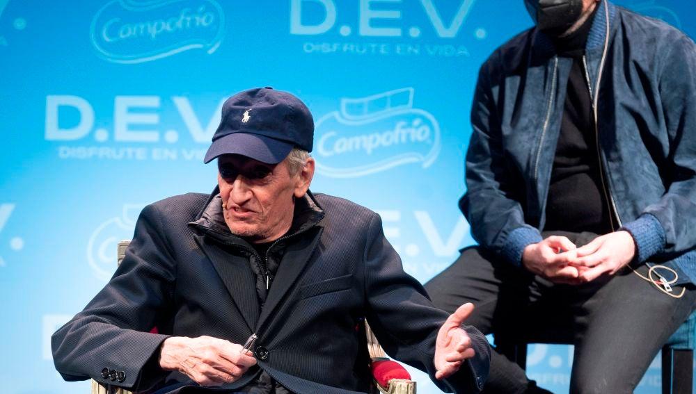 El actor Enrique San Francisco
