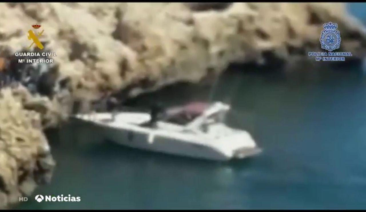 Cae en Melilla una red de tráfico de hachís y de inmigrantes que cobraba 2.000 euros por trayecto a la Península