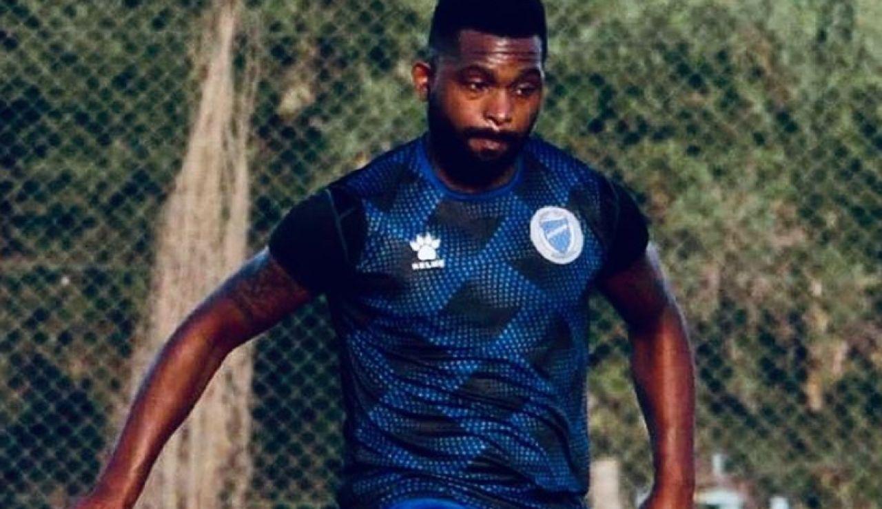 Santiago 'Morro' García en un entrenamiento