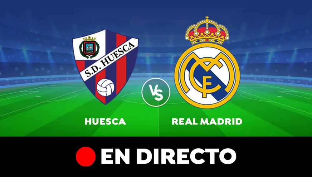 Huesca - Real Madrid: Resultado y goles del partido de hoy, en directo | Liga Santander