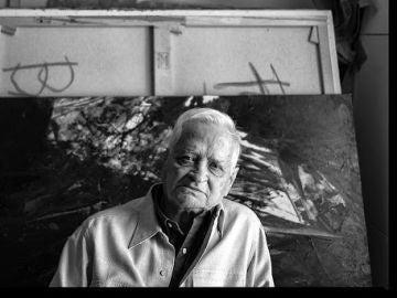 El pintor madrileño Luis Feito