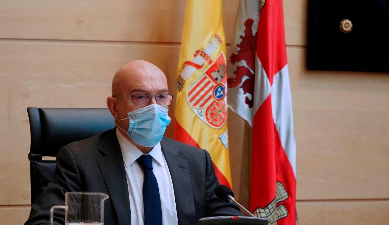 Jesús Julio Carnero, consejero de Agricultura, Ganadería y Desarrollo Rural de Castilla y León
