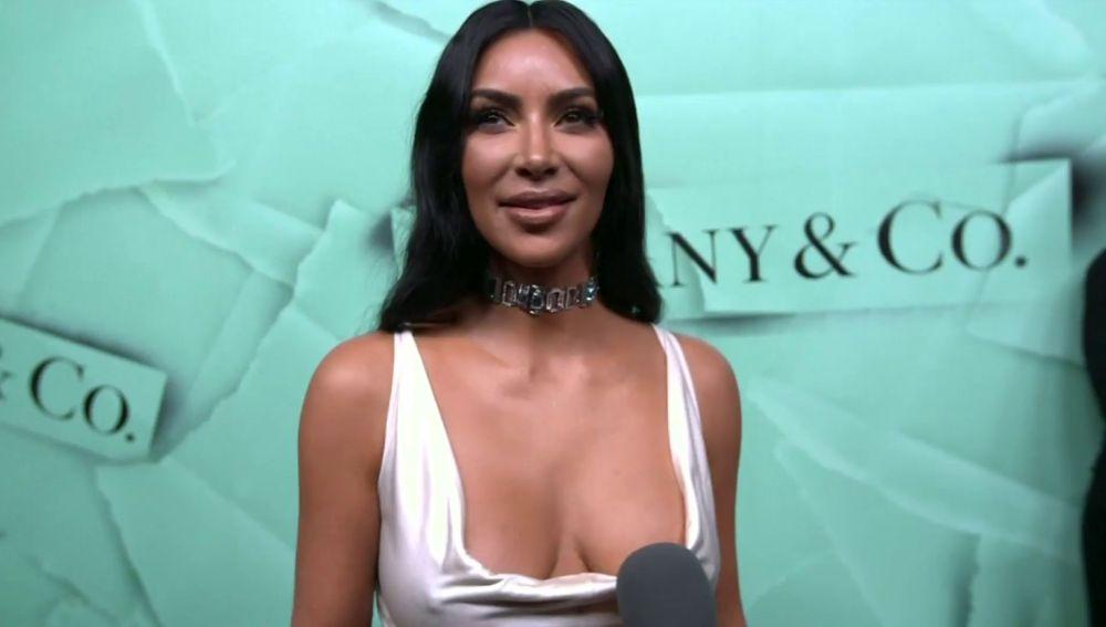 Kim Kardashian en un evento