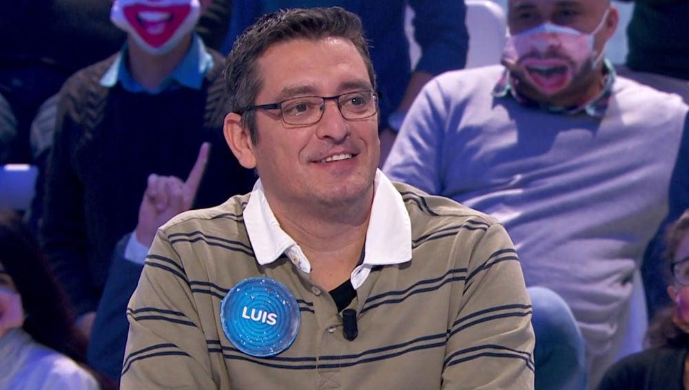 Luis de Lama en 'Pasapalabra'