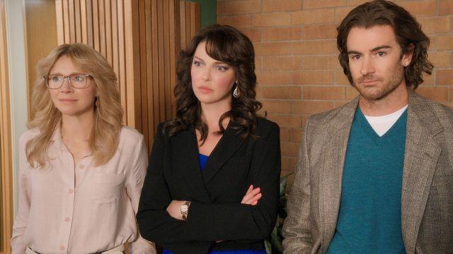 Sarah Chalke, Katherine Heigle y Ben Lawson
