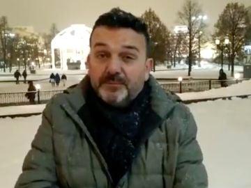 Josep, español en Rusia que ha recibido la vacuna