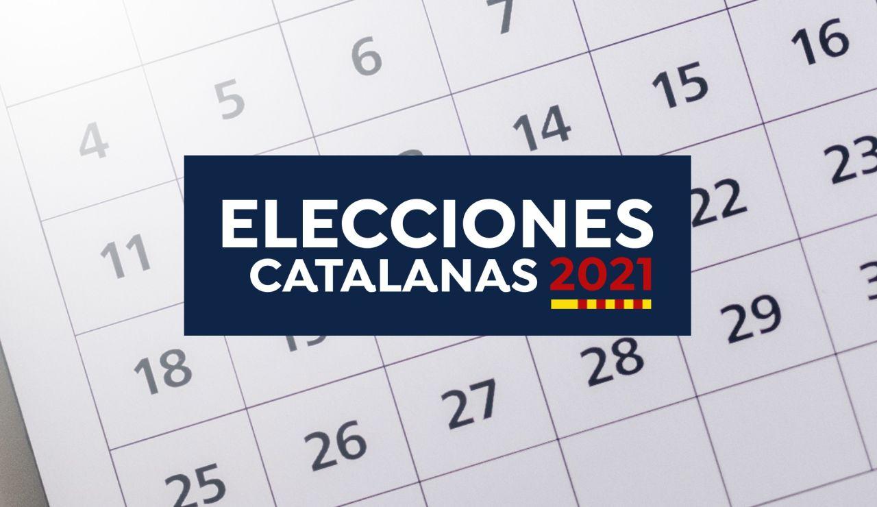 Elecciones catalanas 2021: Calendario, fechas y horatios