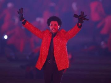The Weeknd en la Super Bowl 2021
