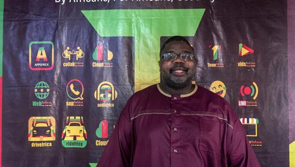 Imagen cedida por Hambra Marcarthy y Techfrica del sierraleonés Alhassan Hafiz Bakarr-Kanu. EFEImagen cedida por Hambra Marcarthy y Techfrica del sierraleonés Alhassan Hafiz Bakarr-Kanu.