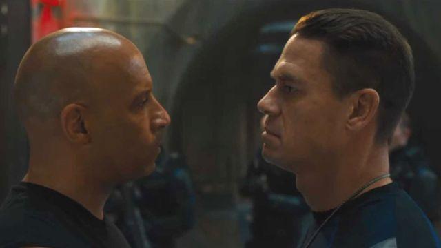 Vin Diesel y John Cena en 'Fast and Furious 9'