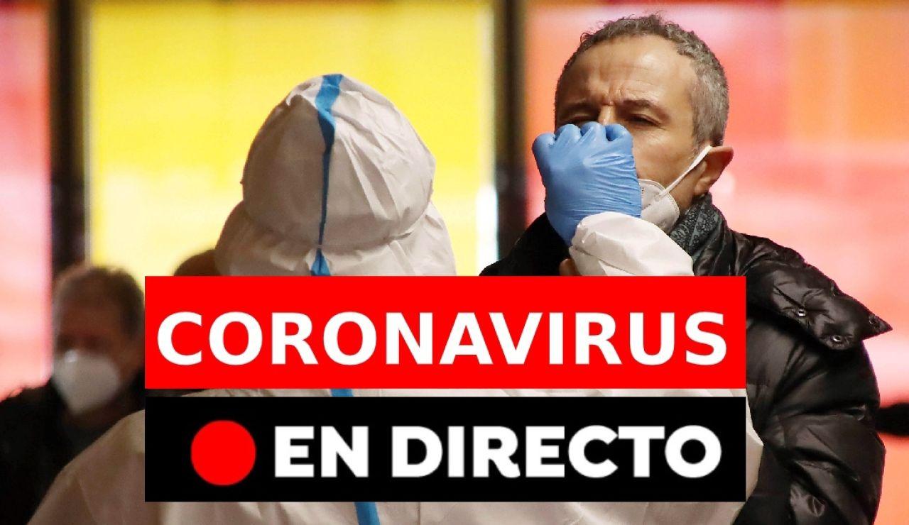 Coronavirus España hoy: última hora de contagios y restricciones