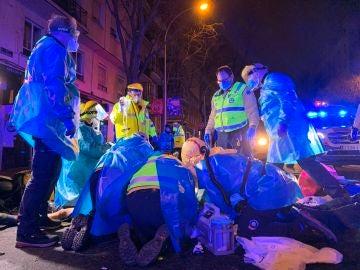 Madrid: Muere un repartidor tras chocar con un camión de la basura en Embajadores