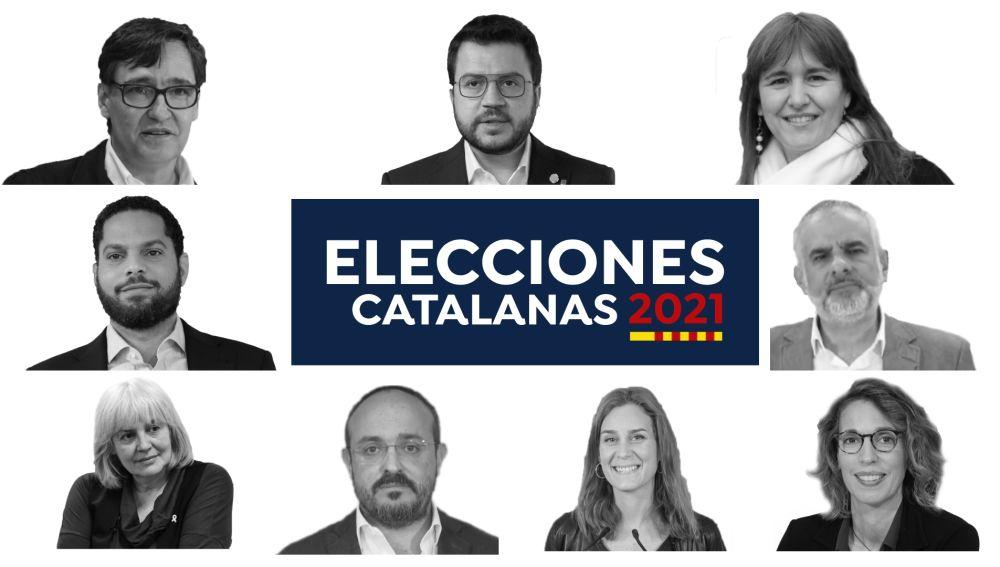 Elecciones catalanas 2021: Estos son los candidatos a presidir la Generalitat de Cataluña