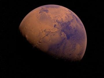 Marte, el planeta rojo