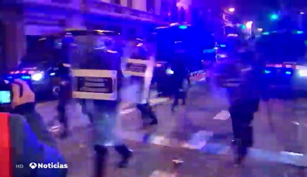 Manifestación Barcelona contra el encarcelamiento de Pablo Hasél, streaming en directo