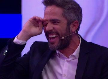 El ataque de risa de Roberto Leal ante el picante espectáculo de Pablo Puyol y Jorge Sanz