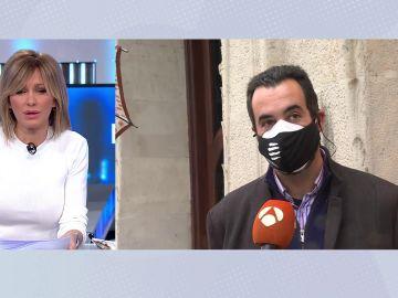 Joan Navarro portavoz del sindicato de los Mossos d´Esquadra