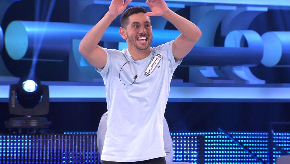 Gerardito se abona al 'Lo pierdes todo'… ¡y lo celebra bailando 'La gozadera'!