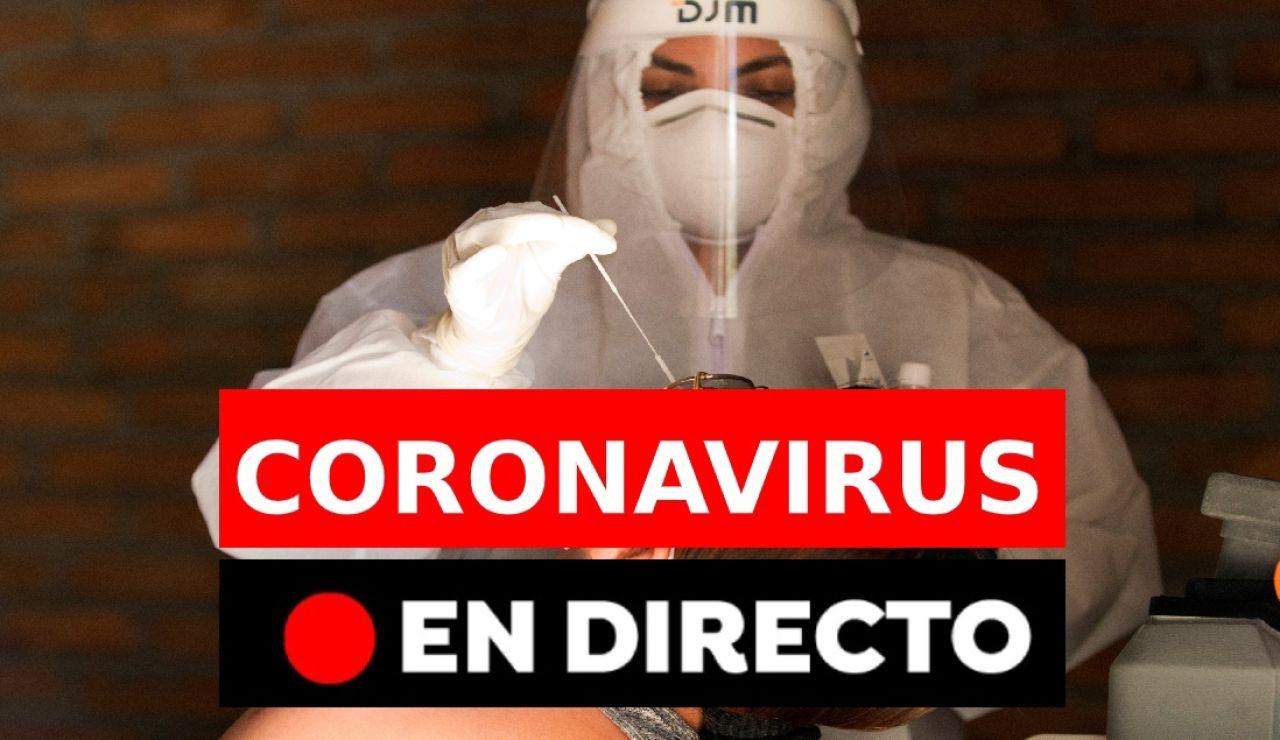 Coronavirus en España hoy: Restricciones y última hora del covid-19 hoy en directo