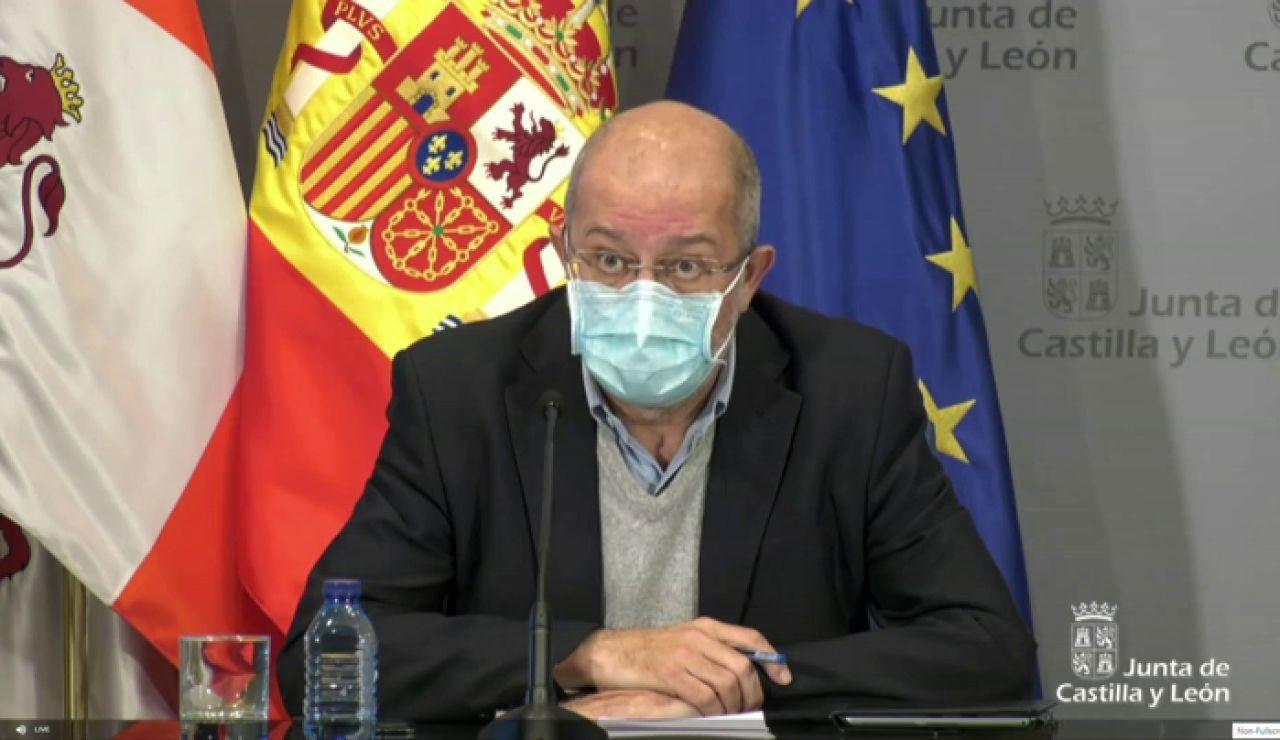 Nuevas restricciones en Castilla y León: Comparecencia de Francisco Igea